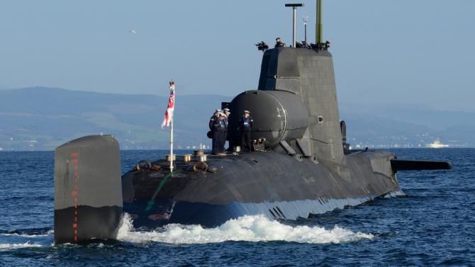 HMS Astute, sursă foto: Royal Navy