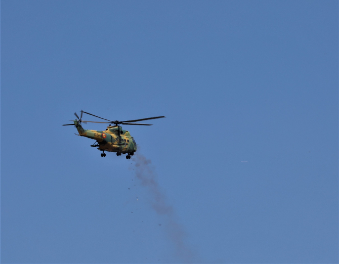 IAR 330 Puma SOCAT, Foto: MApN via. Lt. Anca Medrea