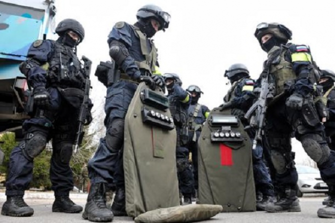 Luptători FSB, în Federația Rusă. Sursă foto: FSB
