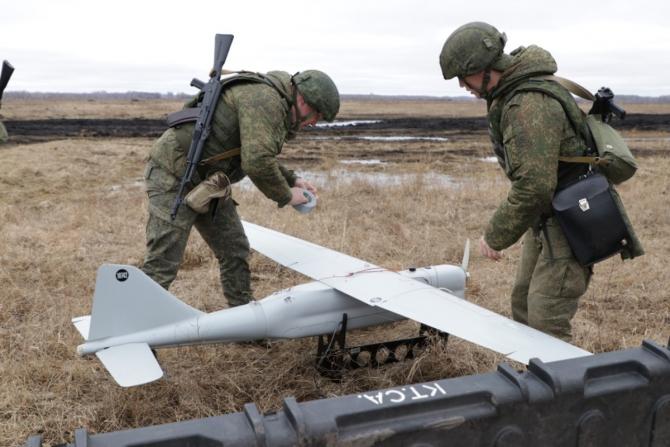 UAV Orlan, sursă foto: Ministerul Apărării din Federația Rusă