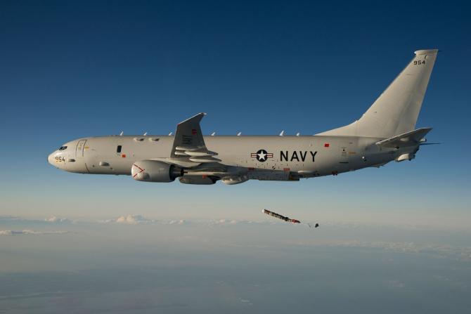 P-8A Poseidon, sursă foto: US Navy via US Naval Institute