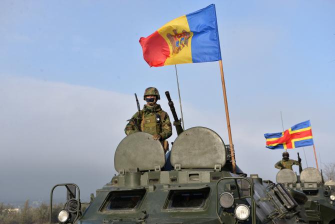 Armata Națională. Sursă foto: Sursă foto: Ministerul Apărării din Republica Moldova