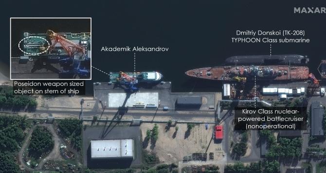 Foto satelit. Sursa: Maxar Technologies. Imagine publicata de portalul online de știri și analize al Institutului Naval SUA.