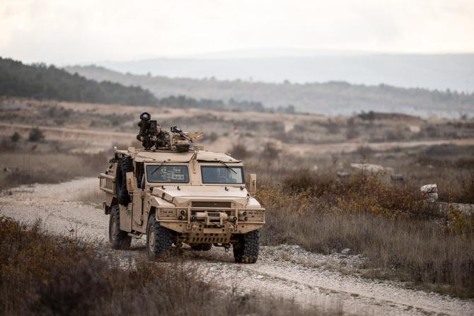 Vehicul de luptă Sabre dezvoltat de Arquus, sursă foto: MBDA