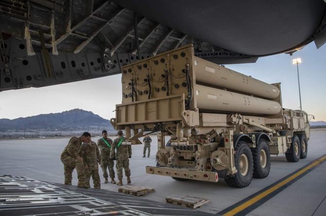 Sistem de apărare antirachetă THAAD