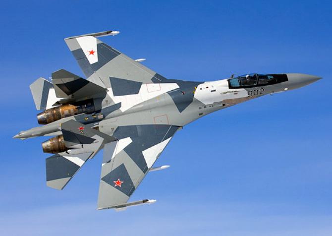 Su-35, sursă foto: Ministerul Apărării din Federația Rusă