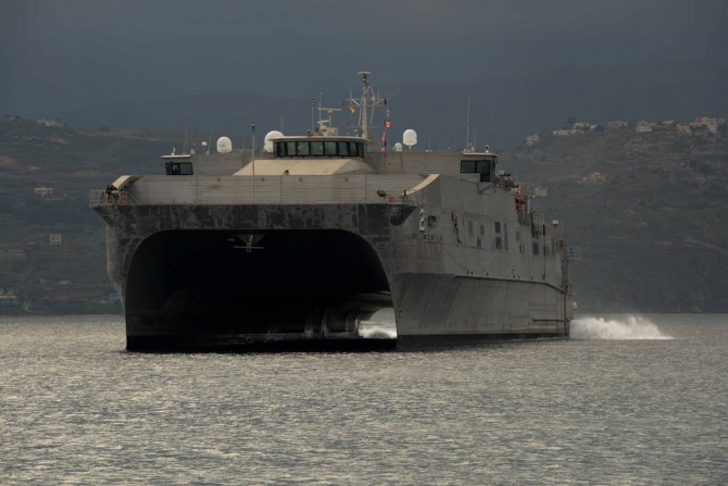 USNS Choctaw County, sursă foto: US Navy