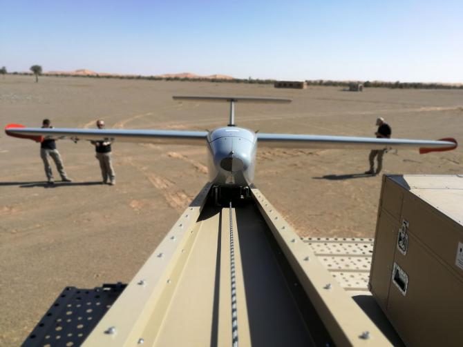 Drona kamikaze Warmate, sursă foto: WB Group