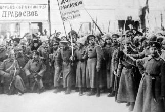 Armata roșie după Revoluția din Octombrie 1917, sursă foto: EuropeCentenary.eu