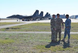 Avioane F-15E Strike Eagle ale US Air Force au fost dislocate la Baza 86 Aeriană Borcea pentru a participa la operațiunea Castle Forge.