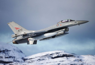 F-16 norvegian, sursă foto: @official Forsvaret - Forțele armate norvegiene