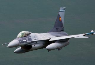 F-16, România. Sursă foto: Baza 86 Aeriană Borcea