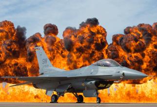 F-16 Viper, sursă foto: U.S. Air Force
