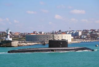 Submarinul rusesc Kolpino, sursă foto: Ministerul Apărării din Rusia