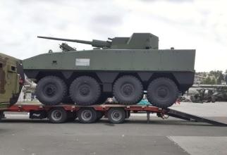 Transportor sârb blindat Lazanski, sursă foto: Novosti.rs
