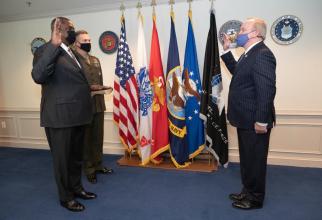Lloyd Austin, secretarul american al Apărării. Sursă foto: Department of Defense United States of America