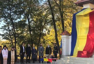 """Monumentul """"Cișmeaua general Georgescu P. Ion"""", dedicat Eroilor Armatei României, de la Chișinău. Sursă foto: Ministerul Culturii din Republica Moldova"""