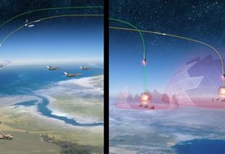 """Imagine concept a programului hipersonic american """"Operational Fires"""". Sursă foto: DARPA"""