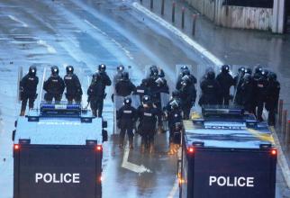 Forțele de poliție kosovare, sursă foto: Poliția din Kosovo @official
