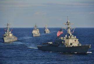 Distrugătorul american USS Chafee. Sursă foto: U.S. Navy