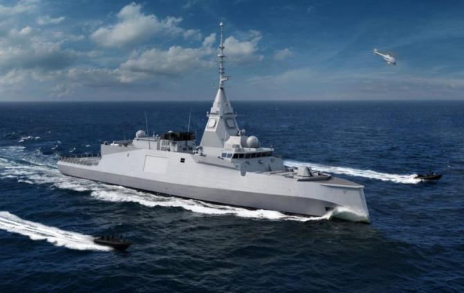 Concept fregată Belharra, sursă foto: Naval Group
