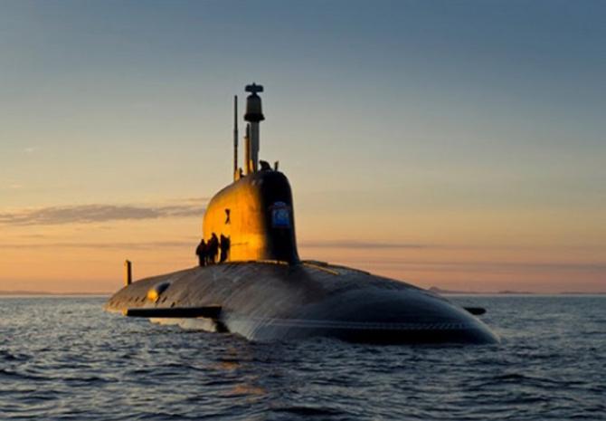 Submarinul Severodvinsk, sursă foto: Ministerul Apărării din Rusia